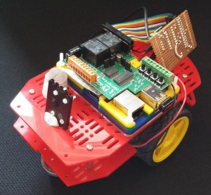 Pisaac, the Raspberry Pi robot